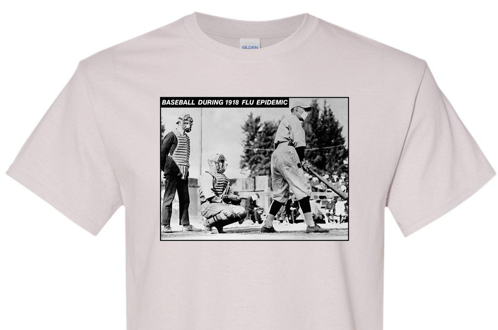 Baseball 1918 Flu T-Shirt