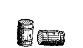 HO Details - Barrels, Crates, Sacks, Tires