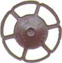 HO Brake Wheels