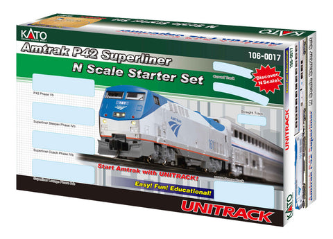 Kato N Scale Amtrak Superliner Train Set