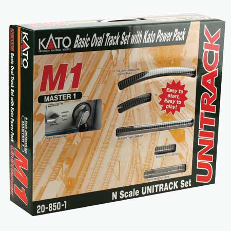 Kato N Scale UNITRACK Master & Variation Sets