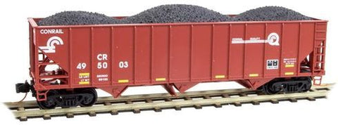 Micro-Trains N 100 Ton 3-Bay Hopper Car
