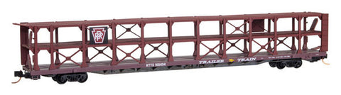 Micro-Trains N 89' Tri-Level Open Auto Rack
