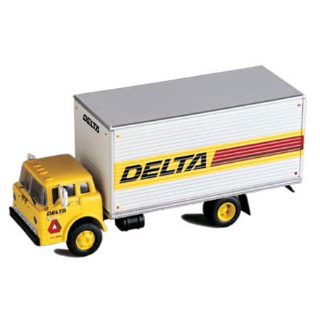 Ford C Box Van, Delta Trucking