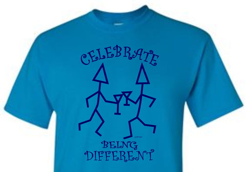 Celebrate Being Different T-Shirt