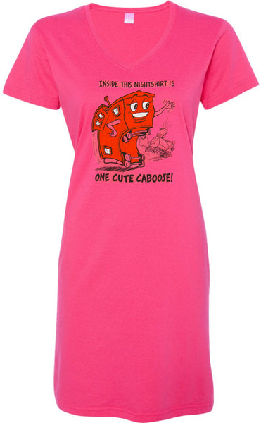 Cute Caboose Nightshirt