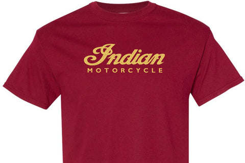Indian (Script) Motorcycle T-Shirt