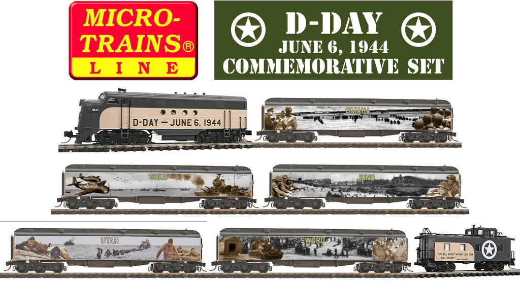 Micro-Trains N Scale D-Day Commemorative Set