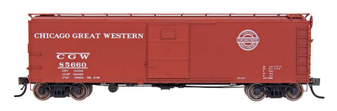 Red Caboose HO X-29 Boxcar