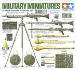 Tamiya 1/35 German Infantry Weapons