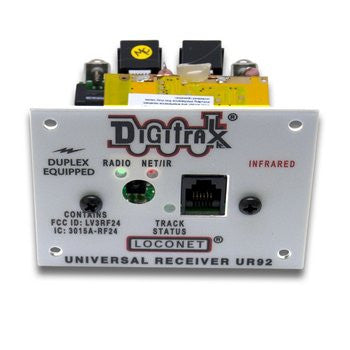 Digitrax UR92 Radio/IR Panel