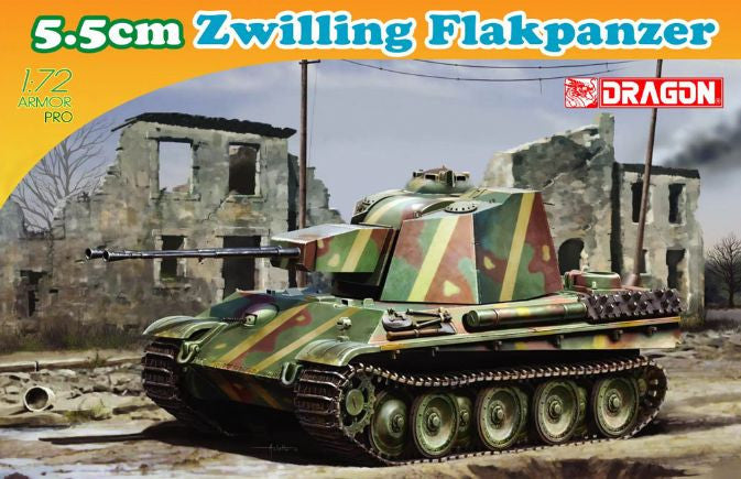 Dragon 1/72 Zwilling Flakpanzer