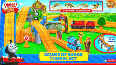 Scenes Of Sodor Tunnel Set