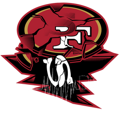 49ers Hilarious Funny Football Logo