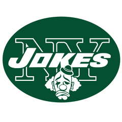 Jets Parody Football Logo