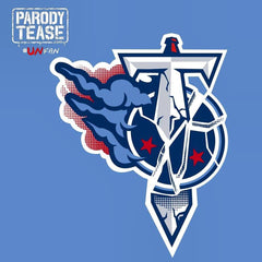 Funny Tennessee Titans Parody Logo