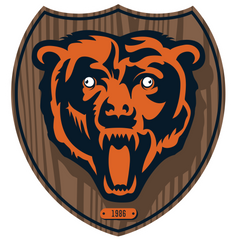 Bears Funny Hilarious Football Logo
