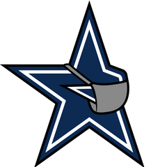Cowboys Parody Football Logo