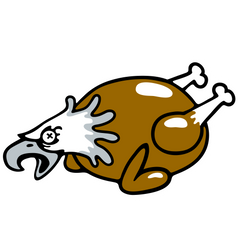 Eagles Funny Hilarious Football Logo