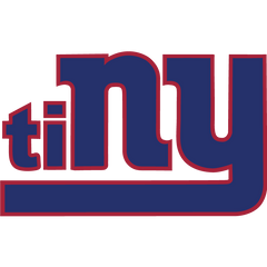 Giants Funny Hilarious Football Logo