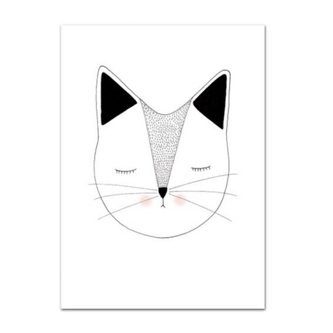 Lauren Smallfield - Miss Puss Print