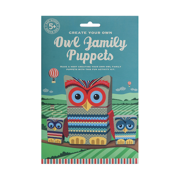 Clockwork Soldier - Owl Family Puppets