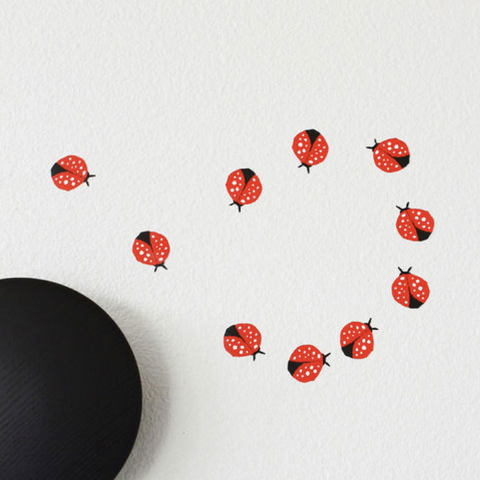Wee Gallery - Ladybug Wall Decals