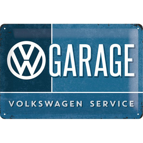Nostalgic Art - NA Tin Sign 20x30 - VW Garage - Studio Thien