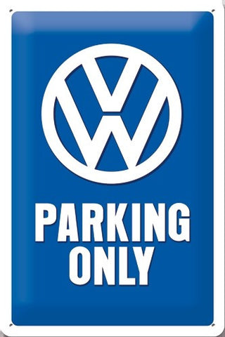 Nostalgic Art - NA Tin Sign 20x30 - VW Parking Only - Studio Thien