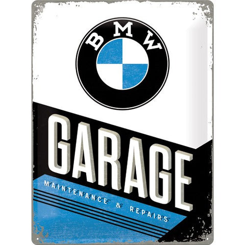 NA Tin Sign 30x40 - BMW Garage