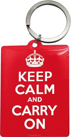 Nostalgic Art - NA Key Chain - Keep Calm - Studio Thien