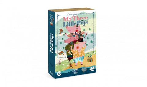 Londji - My 3 Little Pigs Puzzle - Studio Thien