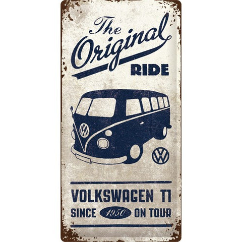 NA Tin Sign 25x50 - VW Bulli
