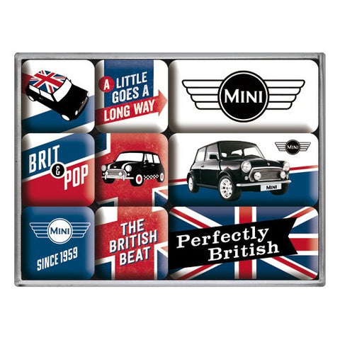 Nostalgic Art - NA Magnet Set - Mini Union Jack - Studio Thien