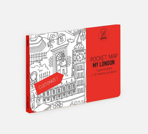 OMY - Pocket Map - Londen - Studio Thien