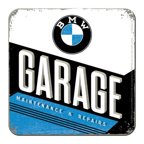 Nostalgic Art - NA Coaster - BMW Garage - Studio Thien