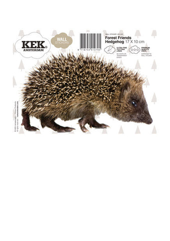 KEK Amsterdam - Forest Friends Hedgehog - Studio Thien
