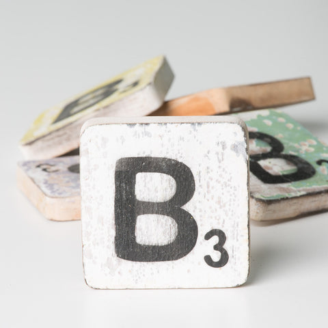 Cotton Counts - Houten deco letter B3 - Studio Thien