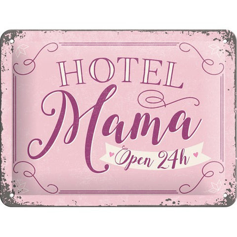 Nostalgic Art - NA Tin Sign 15x20 - Hotel Mama - Studio Thien