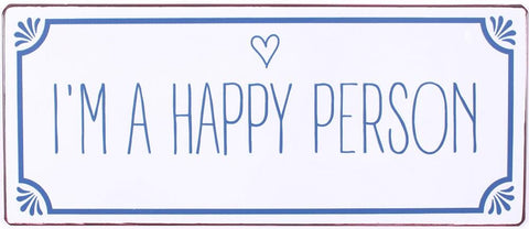spreuk: Happy Person