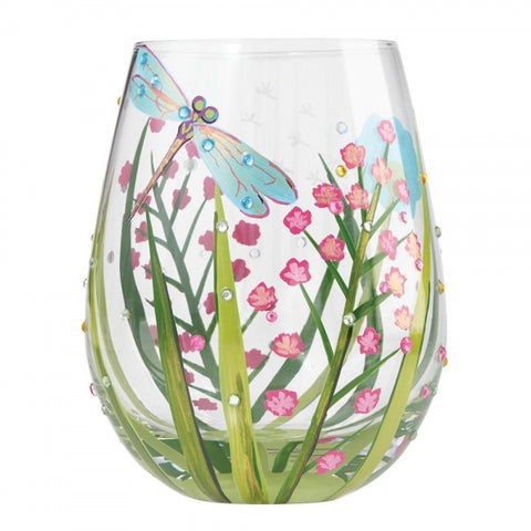 Stemless Glass - Dragonfly