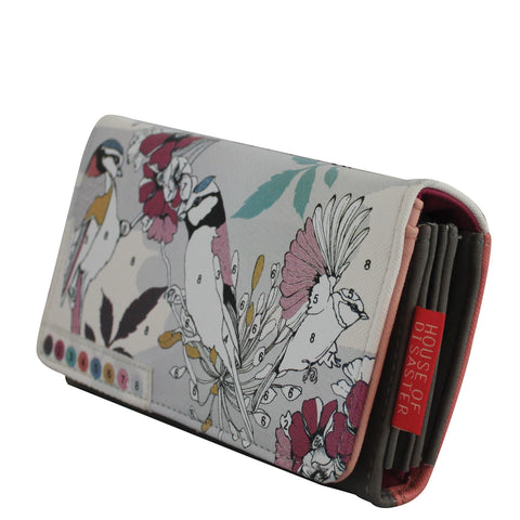 House of Disaster - COLOUR ME - Bird Wallet - Studio Thien