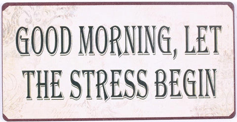 Lafinesse - magneet: Good Morning-Stress - Studio Thien