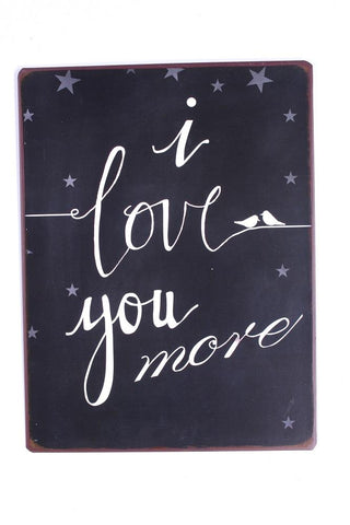 spreuk: I Love You More