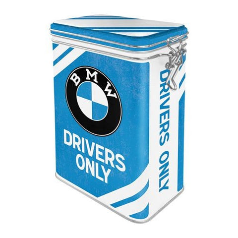 Nostalgic Art - NA Clip Top Box - BMW Drivers Only - Studio Thien