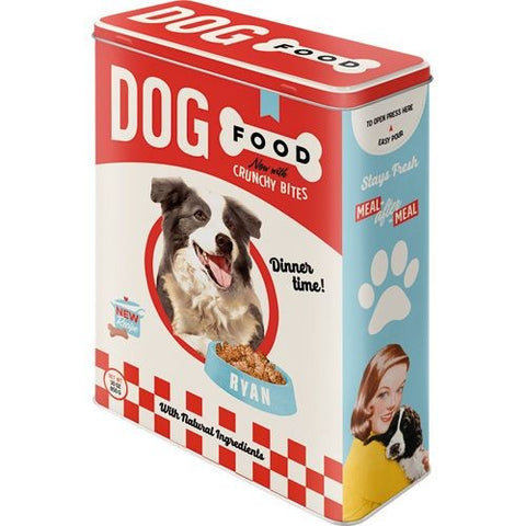 Nostalgic Art - NA Tin Box XL - Dog Food - Studio Thien