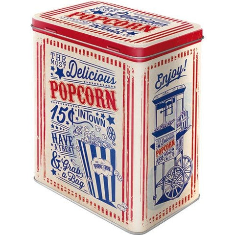 Nostalgic Art - NA Tin Box L - Popcorn - Studio Thien