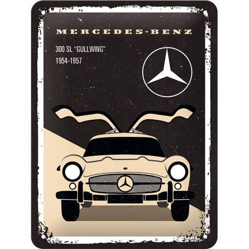 Nostalgic Art - NA Tin Sign 15x20 - Mercedes 300SL - Studio Thien