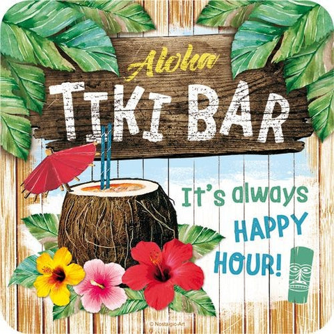 Nostalgic Art - NA Coaster - Tiki Bar - Studio Thien
