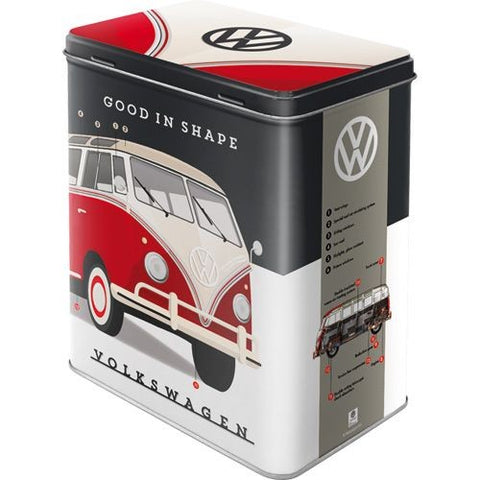Nostalgic Art - NA Tin Box L - VW Good in Shape - Studio Thien